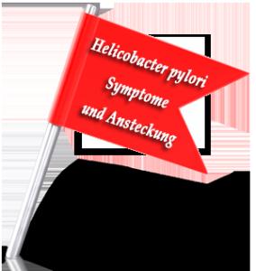 Helicobacter pylori Symptome