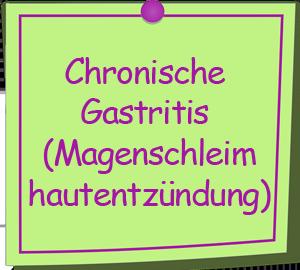 Chronische Gastritis